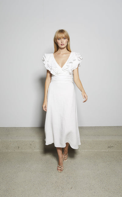 BISOU BISOU DRESS - IVORY