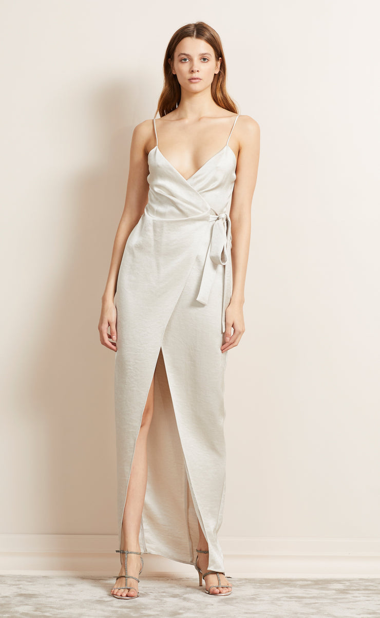 ALL NIGHT MAXI DRESS - CHAMPAGNE