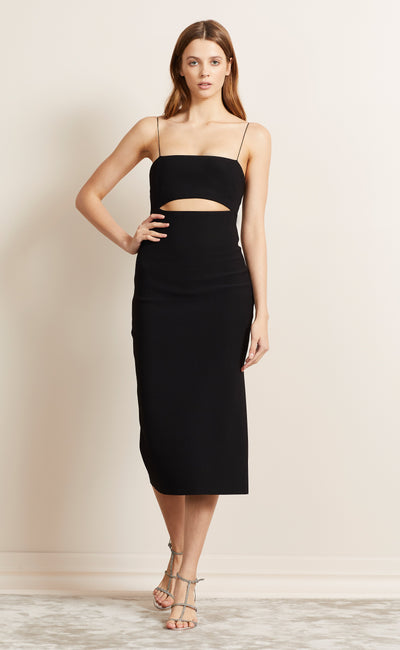 BE MINE CUT OUT DRESS - BLACK