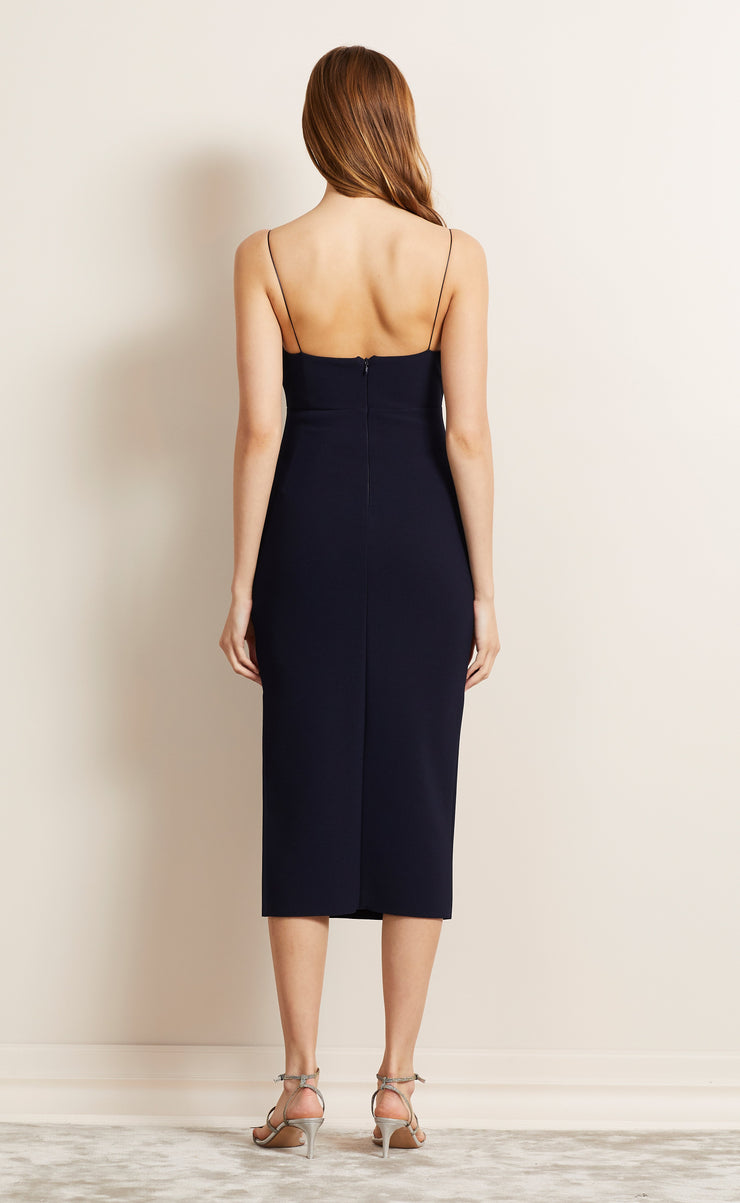 BE MINE CUT OUT DRESS - NAVY