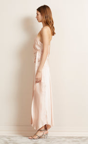 HEARTBEAT WRAP DRESS - HIMALAYAN SALT