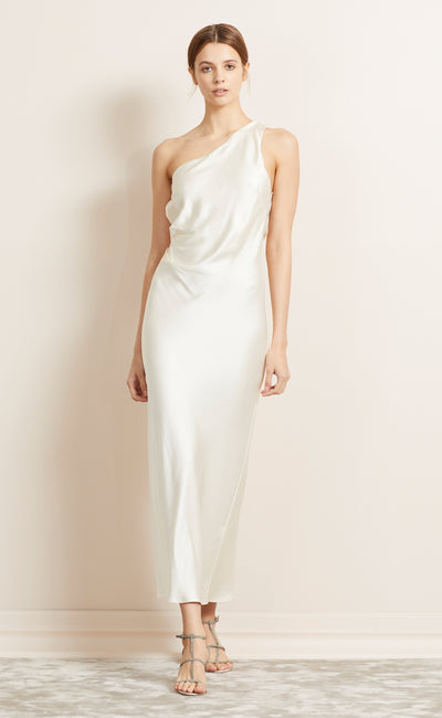 THE DREAMER AYSM MIDI DRESS - IVORY
