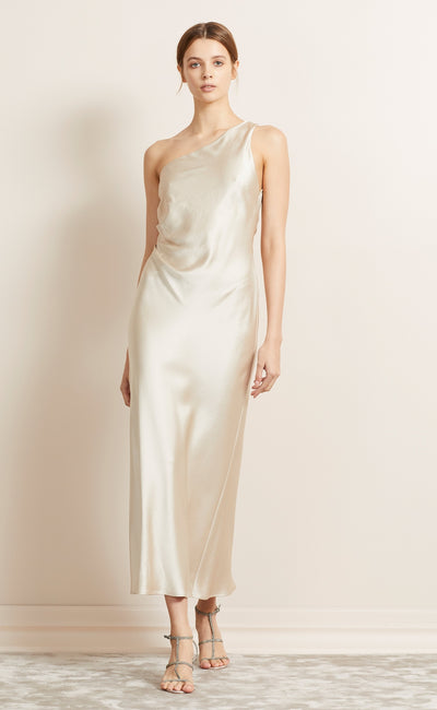 THE DREAMER AYSM MIDI DRESS - SAND