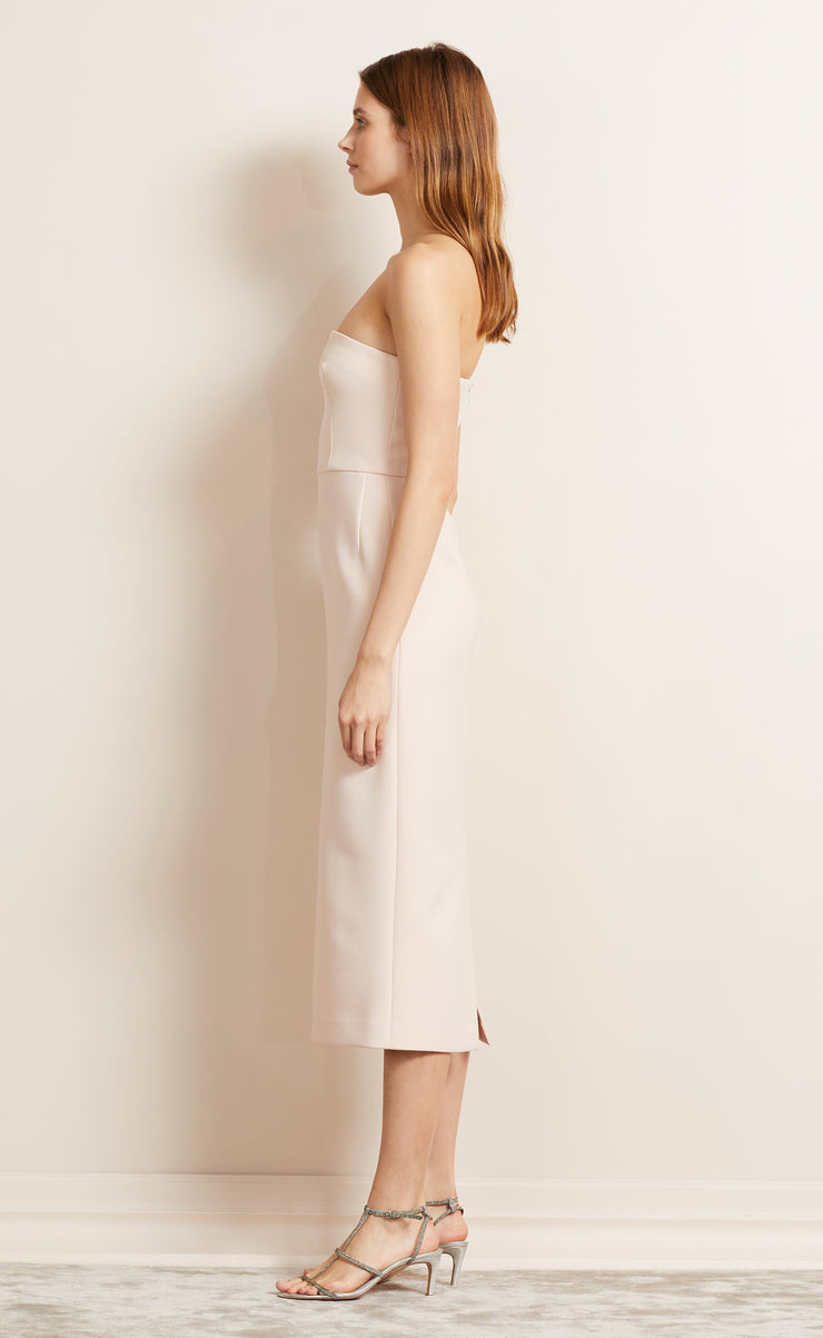 FOREVER YOUNG STRAPLESS DRESS - BLUSH
