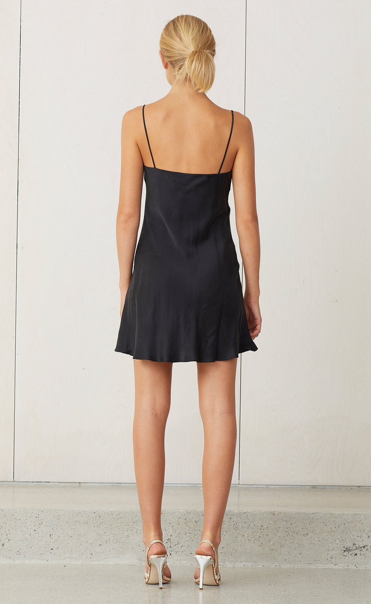CLASSIC MINI DRESS - BLACK