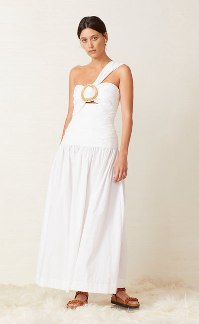 NIXIE DRESS - WHITE