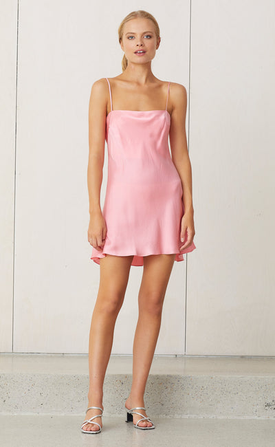 CLASSIC MINI DRESS - FLAMINGO