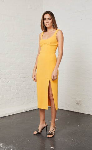 ELLE MIDI DRESS - MANGO