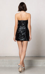 SLICK RICK DRESS - BLACK