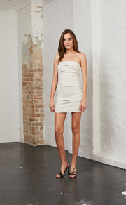 SPICY LADY MINI DRESS - CHAMPAGNE