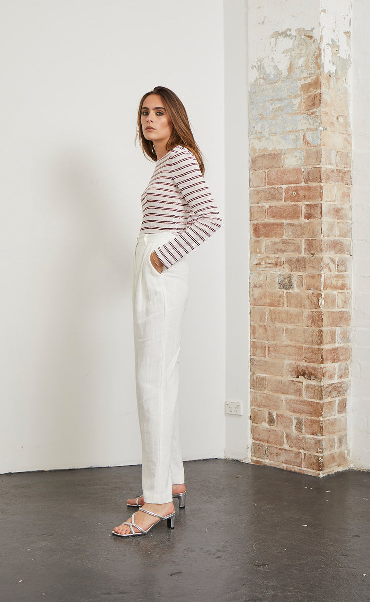 NATURAL WOMAN PANT - CHALK