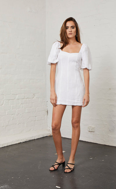 LOVE ADDICTION DRESS - IVORY