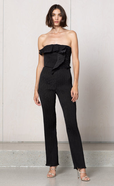 LOCO MOTION JUMPSUIT - BLACK