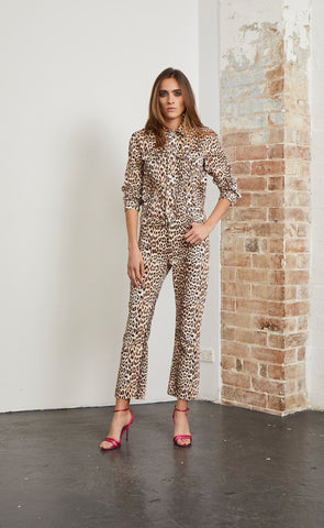 SUPER FREAK PANT - LEOPARD PRINT