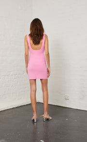 MARGAUX MINI DRESS - FUCHSIA