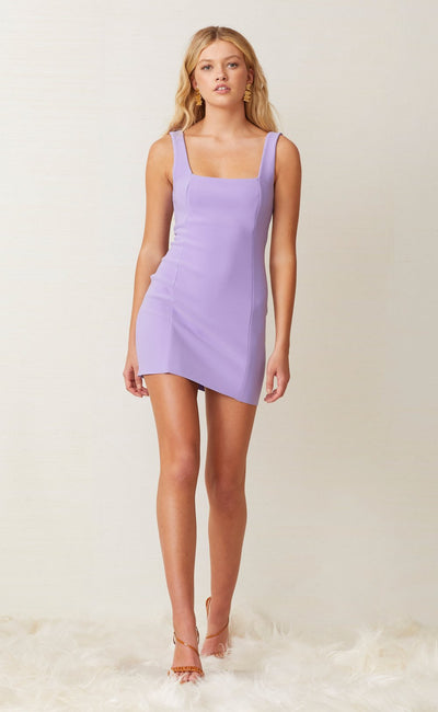 GEMMA MINI DRESS - VIOLET