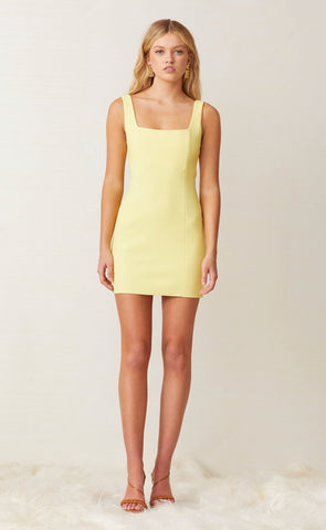 GEMMA MINI DRESS - BANANA