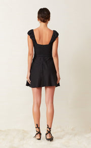 LEXI MINI DRESS - BLACK