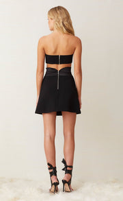 SHORE BREAK MINI SKIRT - BLACK