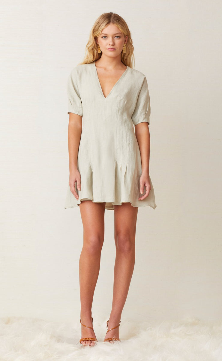 CHARLIE MINI DRESS - SILT
