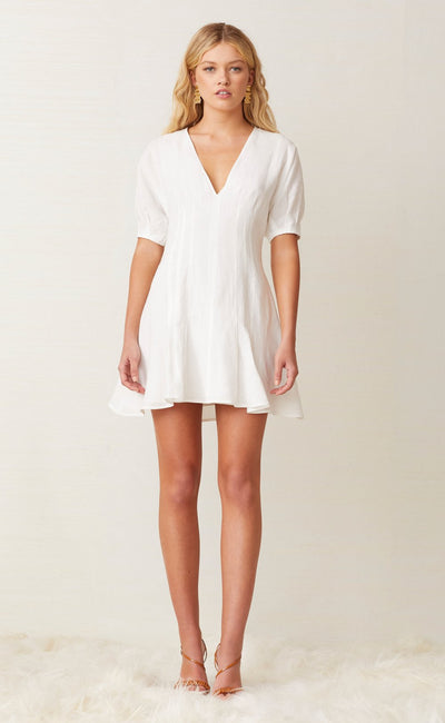 CHARLIE MINI DRESS - IVORY