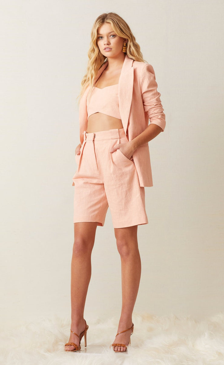 CORAL CLUB JACKET  - PEACH