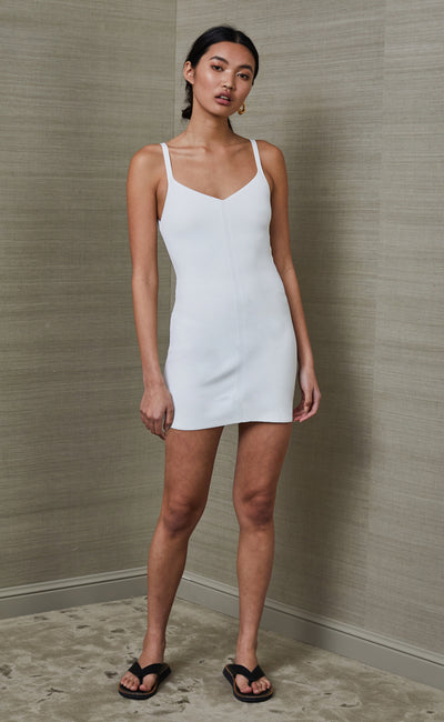 EDEN MINI DRESS - IVORY