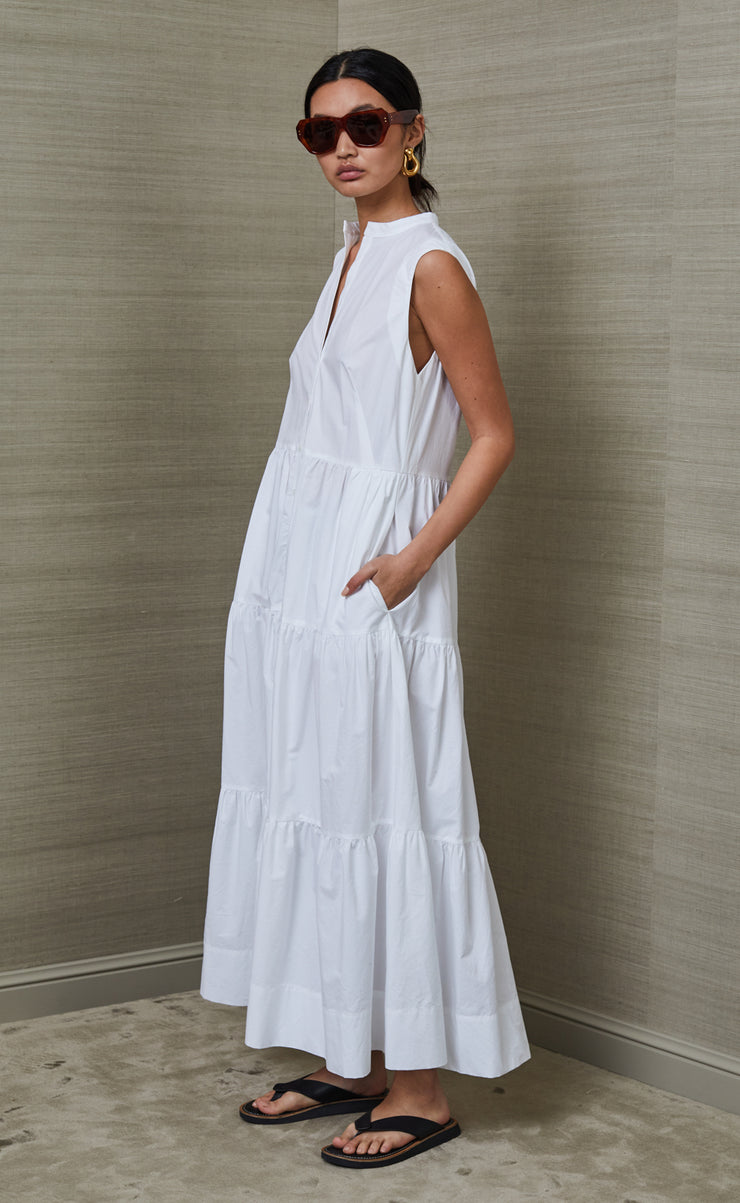 JOSLYN MAXI DRESS - IVORY