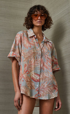 MIAMI PALM SHIRT - PRINT