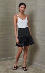 NIKOLINA MINI SKIRT - BLACK