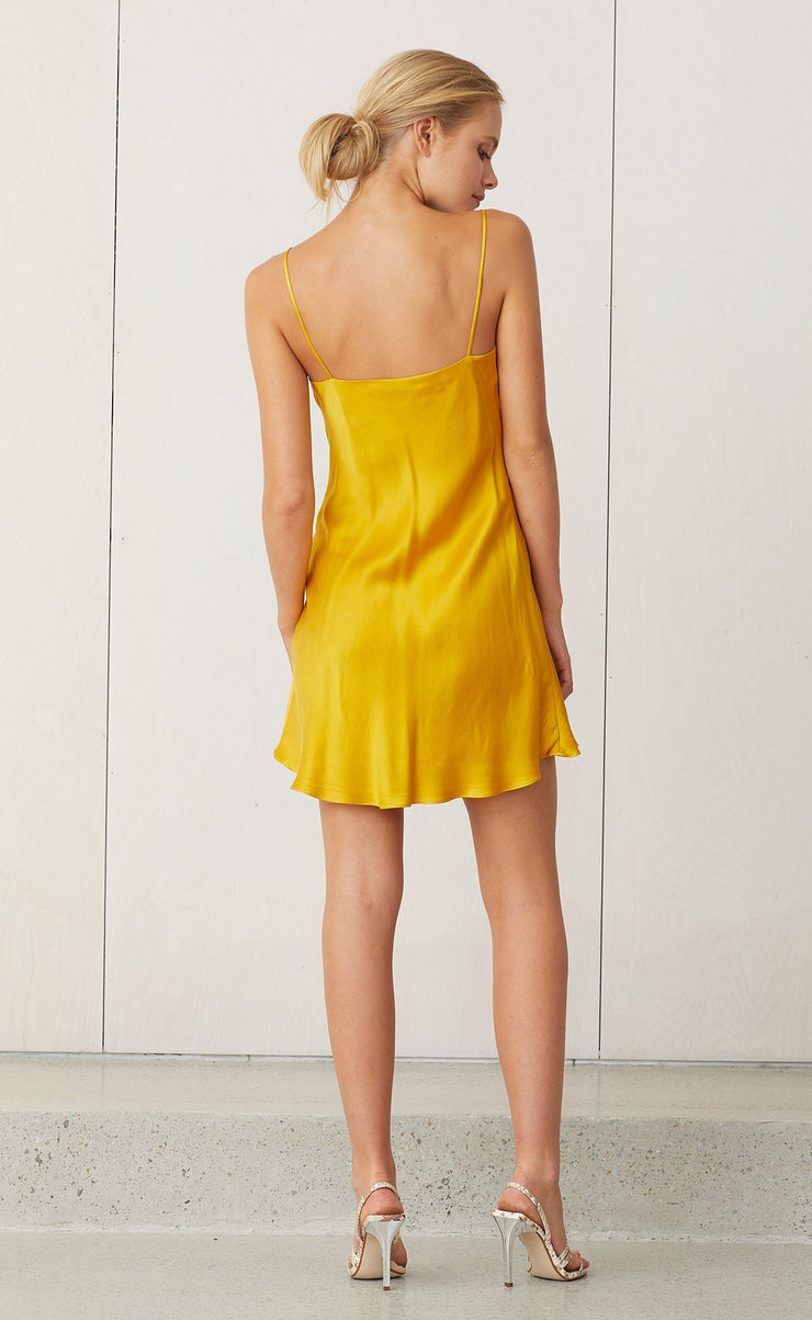 CLASSIC MINI DRESS - MARIGOLD