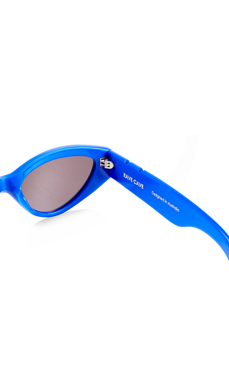 BB PARED II - RAVE CAVE - COBALT BLUE SILVER MIRROR