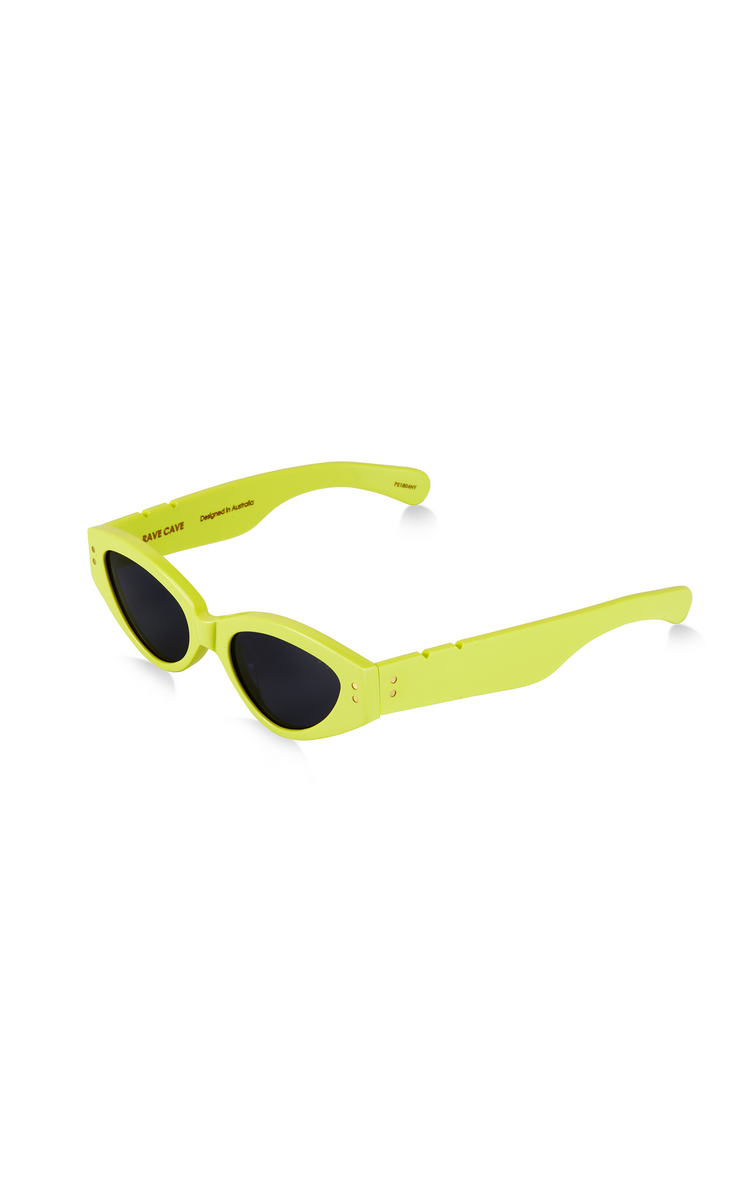 BB PARED II - RAVE CAVE - NEON YELLOW SOLID GREY