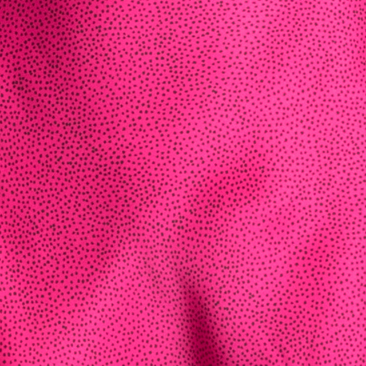 PINK PARTY MINI DRESS - FUCHSIA SPOT