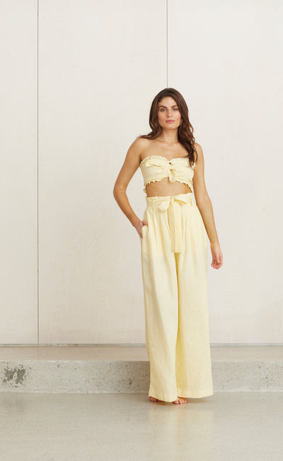 TROPICAL FEVER TOP - BUTTER