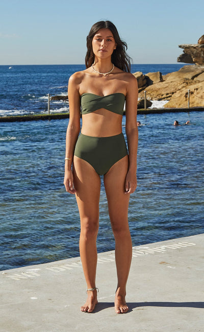 WAVE RIDER HIGH BOTTOMS - KHAKI