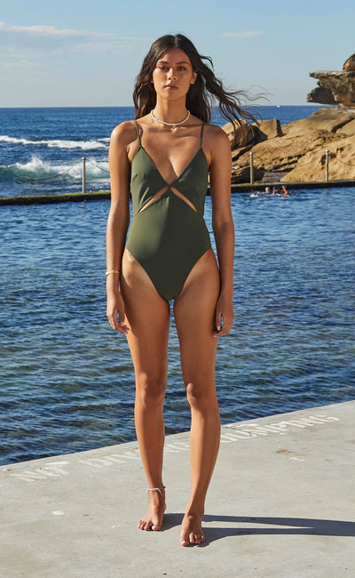 WAVE RIDER ONE PIECE - KHAKI