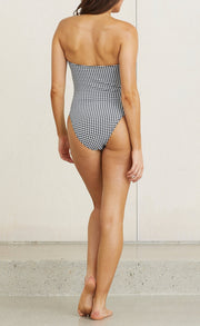 BLACK BETTY ONE PIECE - GINGHAM CHECK
