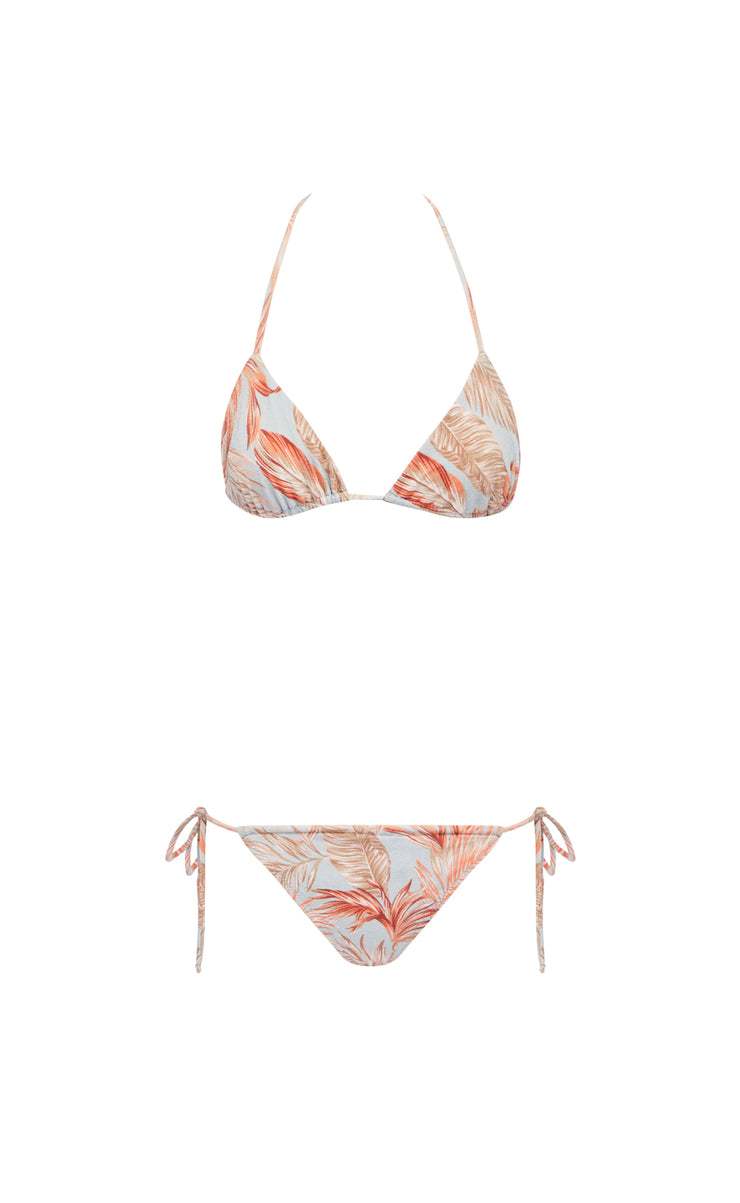 MIAMI FEVER TIE BOTTOM - PRINT