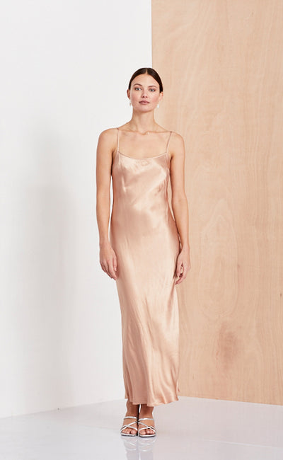 SLIP DRESS  - BLUSH