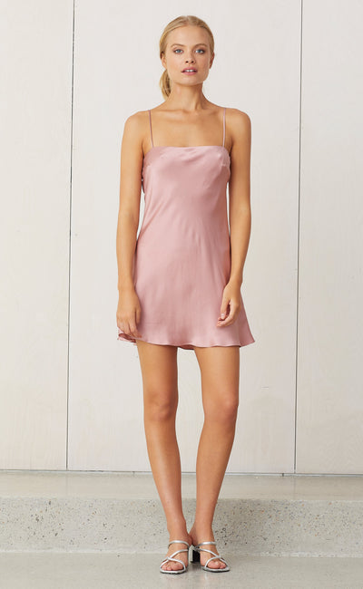 CLASSIC MINI DRESS - ROSEWATER