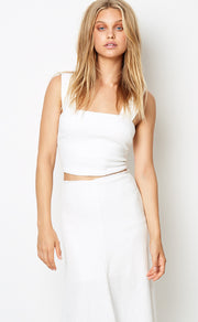 CATALINA AVE TOP  - IVORY