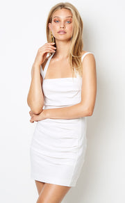 SOUTH BEACH MINI DRESS - IVORY