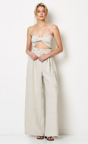 SILVER PALMS PANTS - NATURAL