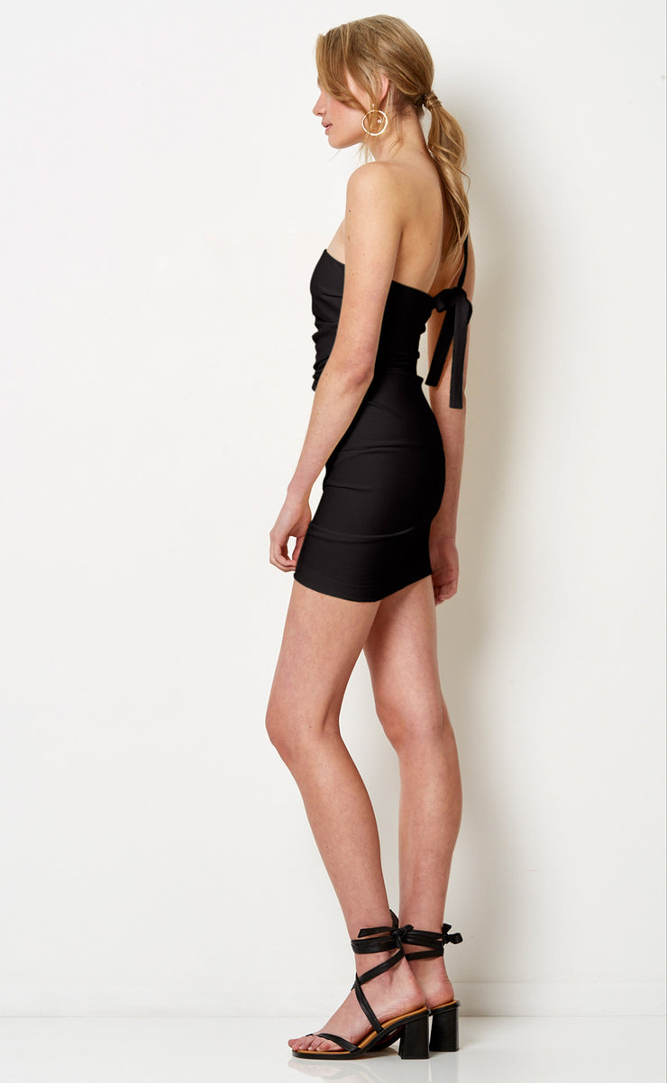 BONITA MINI DRESS - BLACK