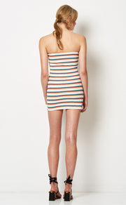 SUNSET DRIVE DRESS - MULTISTRIPE