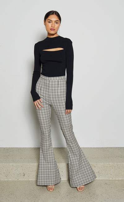 GINGHAM GIRL PANT - CHECK
