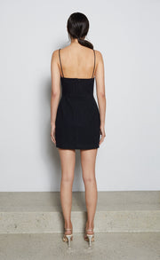 HARRIET MINI DRESS - BLACK