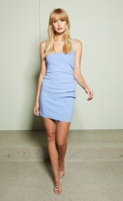 KARINA MINI DRESS - CORNFLOWER