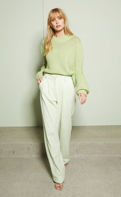 GRETA JUMPER - AVOCADO